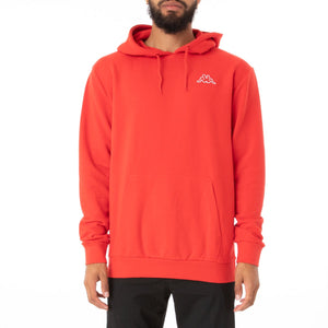 KAPPA LOGO CAIOK SWEATER-Red MD Coral