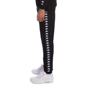 KAPPA 222 BANDA ALANZ 2 SWEATPANTS-BLACK/BLACK/WHITE