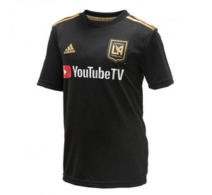 ADIDAS YOUTH LA FC HOME STADIUM JERSEY 18/19
