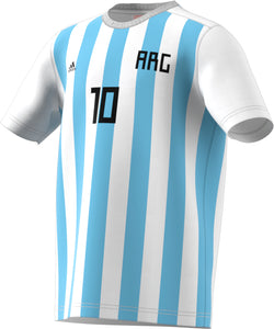 ADIDAS YOUTH ARGENTINA  MESSI TEE