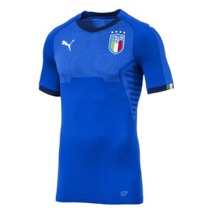 Puma Youth Italy Home Jersey 17/18 - Blue