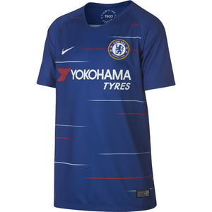 NIKE YOUTH CHELSEA HOME STADIUM JERSEY  18/19