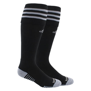 ADIDAS COPA ZONE CUSHION III SOCKS-BLACK/GREY