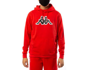 KAPPA LOGO AIOK SWEATER FLEECE-RED CORAL