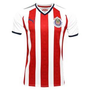Puma Men's Chivas Home Authentic Jersey 17/18