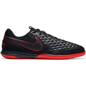 Nike Tiempo Legend 8 Academy IC-BLACK/DK SMOKE GREY/CHILE RED