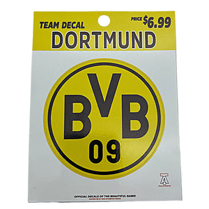 TEAM AUTHENTICS BORUSSIA DORTMUND TEAM CREST DECAL Nvsoccer.com The coliseum