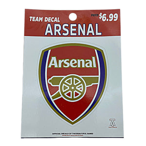 TEAM AUTHENTICS ARSENAL F.C. TEAM CREST DECAL Nvsoccer.com The coliseum