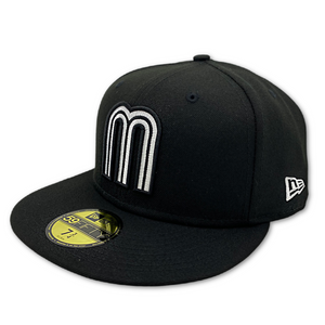 NEW ERA OFFICIAL MEXICO 59FIFTY FITTED HAT-BLACK nvsoccer.com The Coliseum