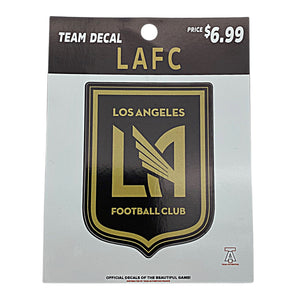 TEAM AUTHENTICS LAFC TEAM CREST DECAL Nvsoccer.com The coliseum
