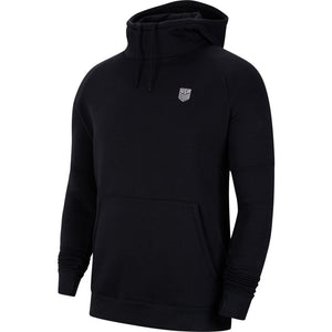 Nike U.S. Men's Fleece Pullover Soccer Hoodie- Black