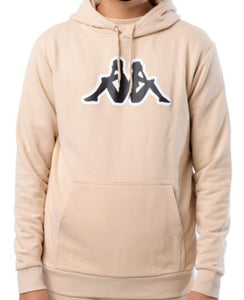 KAPPA LOGO AIOK SWEATER FLEECE-BEIGE CLAY