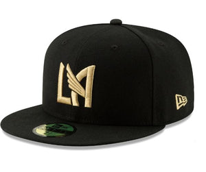 LOS ANGELES FC NEW ERA LAFC BASIC FITTED 59FIFTY-BLACK