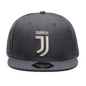 Fi Collections Juventus Platinum Snapback-Heather Black