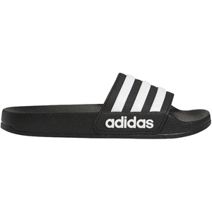 ADIDAS JR ADILETTE SHOWER SLIDES-BLACK/WHITE
