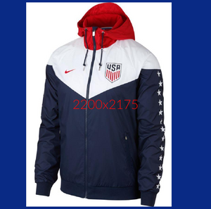 NIKE SPORTSWEAR USA WINDRUNNER JACKET