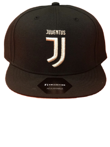 FI COLLECTIONS JUVENTUS GUNNER SNAPBACK HAT-BLACK/GOLD