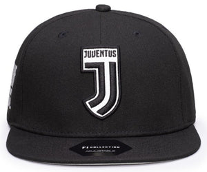 FI COLLECTIONS JUVENTUS DRIBBLING  SNAPBACK HAT-BLACK/WHITE