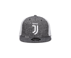 FI COLLECTIONS JUVENTUS DRIBBLING  SNAPBACK HAT-GREY/WHITE