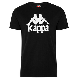 Kappa Men's Authentic Estessi T-Shirt - Black/White