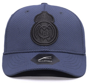 FI COLLECTION REAL MADRID TROPHY ADJUSTABLE HAT-NAVY/BLACK
