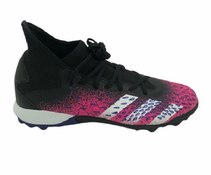 Adidas Predator Freak .3 TF - CORE BLACK/FTWR WHITE/SHOCK PINK