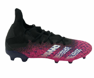 ADIDAS PREDATOR FREAK .3 FG-  CORE BLACK/FTWR WHITE/SHOCK PINK