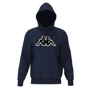 KAPPA LOGO AIOK SWEATER FLEECE-BLUE MARINE