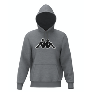 KAPPA LOGO AIOK SWEATER FLEECE-GREY