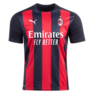 Puma Men's AC Milan Home Stadium Jersey 2020/21