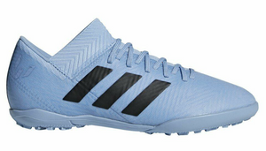 ADIDAS JR NEMEZIZ MESSI 18.3 TF-ASHBLU/ASHBLU/GOLDMT