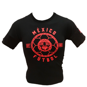 ADIDAS MEXICO LINEAR ICON EST. T-SHIRT-BLACK/RED