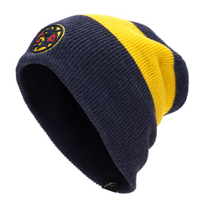 Fi Collections Club America Fury Knit-Navy/Yellow
