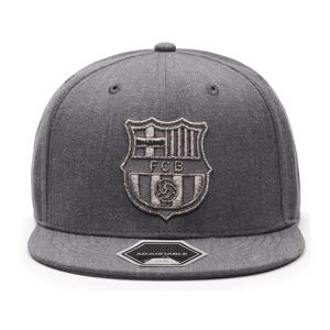 Fi Collections FC Barcelon Platinum Snapback-Heather Black