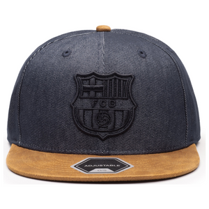 Fi Collections FC Barcelona Orion Snapback-Blue/Brown