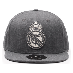 Fi Collections Real Madrid Platinum Snapback-Heather Black