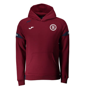 JOMA CRUZ AZUL TRAINING HOODIE- CROSS BLUE/BORDEAUX