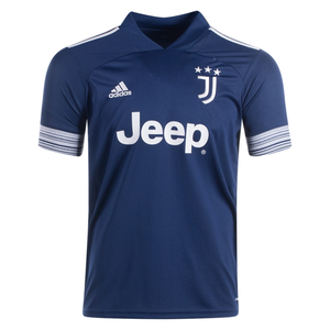 Adidas Men's Juventus Away Stadium Jersey 20/21-Night Indigo/Alumina