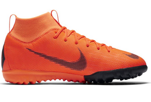 NIKE JR SUPERFLY X 6 ACADEMY TF-TOTAL ORANGE/BLACK