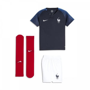 NIKE YOUTH FRANCE HOME MINI KIT 18/19