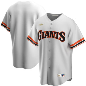 Nike Men's San Francisco Giants White Home 2020 Cooperstown Collection Team Jersey