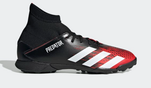 ADIDAS YOUTH PREDATOR 20.3 TF- CBLACK/FTWWHT/ACTRED