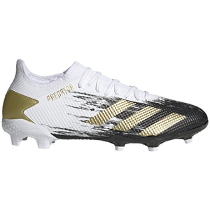 ADIDAS PREDATOR 20.3 LOW FG -WHITE/GOLD/CORE BLACK