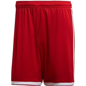 ADIDAS WOMEN'S REGISTA 18 SHORTS-RED/WHITE