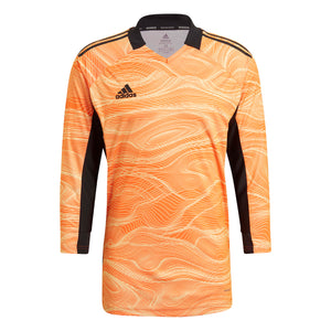 Adidas Women's Condivo 21 Long Sleeve Goalkeeper Jersey - Acid Orange