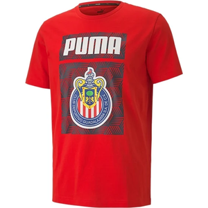 PUMA Men's Chivas Culture T-Shirt - Red