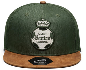 Fi Collections Santos America Orion Snapback-Green/Brown