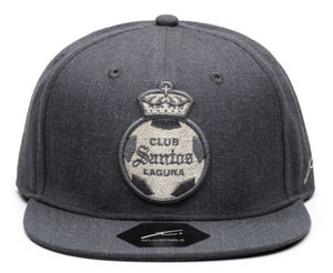 Fi Collections Santos Laguna Platinum Snapback-Heather Black