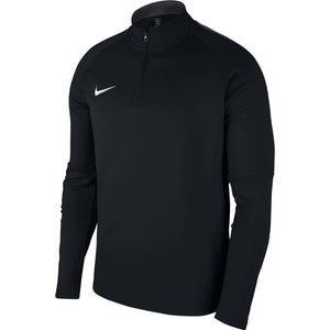 NIKE YOUTH DRY ACADEMY 18 DRILL TOP-BLACK