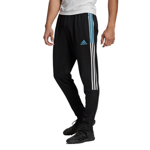 ADIDAS TIRO TRACK PANTS-Black / Hazy Blue